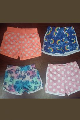 Wholesale Daily Wear Cotton Printed Girls Shorts Collection