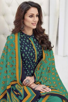 Wholesale Daily Wear Cotton Printed Laado Salwar Suit With Dupatta Set