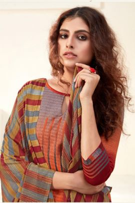 Wholesale Daily Wear Digital Print Cambric Cotton Suit By Alok Suit
