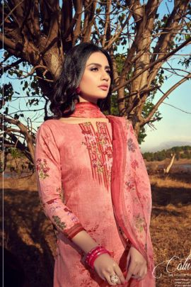 Wholesale Daily Wear Printed Cambric Cotton Salwar Suit Set