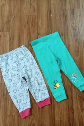 Wholesale Daily Wear Printed Cotton Jersey Infant Pants Collection