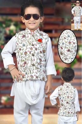 Wholesale-Designer-Wedding-Wear-Kurtha-Pajama-With-Printed-Jacket-For-Small-Kids-3414-5983.jpg