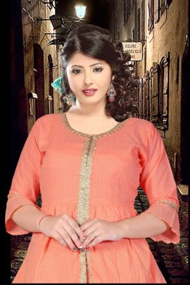 Wholesale Event Party Wear Stylish Rayon Kurti Collection