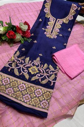 Wholesale Event Wear Fancy Fabric Embroidered Event Wear Dress With Dupatta Colleciton