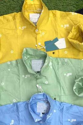Wholesale Fancy Wear Cotton Printed Mens Shirts Collection