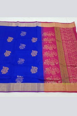Wholesale Festive Occasional Wear Silk Weaved Saree With Blouse Collection