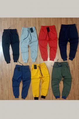 Wholesale Kids Wear Plain Fancy Fabric Boys Track Pant Collection