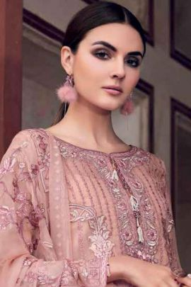 Wholesale Pakistani Festival Wear Faux Georgette Embroidered Suit Set