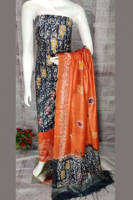 Wholesale Party Stylish Wear Printed Silk Salwar Suit Collection