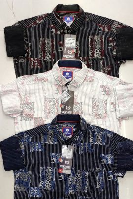 Wholesale Party Wear Cotton Printed Shirt Collection
