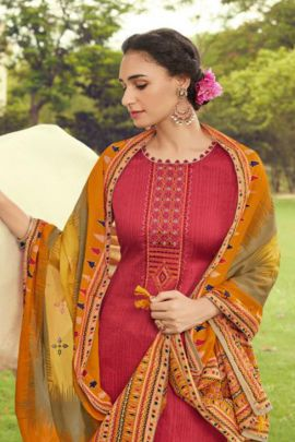 Wholesale Party Wear Embroidery Work Cotton Suit By Deepsy Suits
