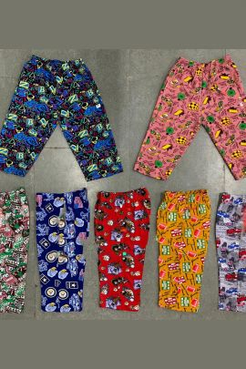 Wholesale Printed Daily Wear Cotton Boys Capri Collection