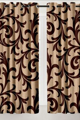 Wholesale Printed Ready Made Linen Hometique Curtain For Windows