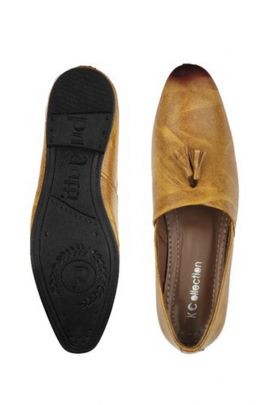 Wholesale PU Leather Brown Mens Loafers Collection