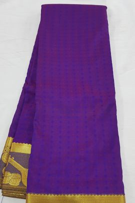 Wholesale Wedding Wear Silk Weaved Kanchipuram Saree Set