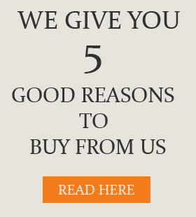 We give you 5 reasons why we can be your reliable wholesale supplier